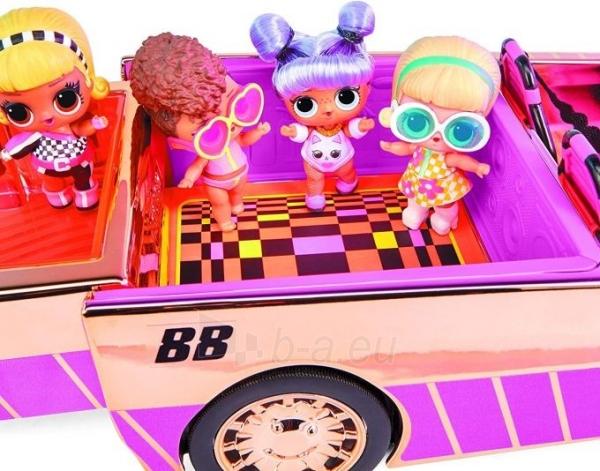 Automobilis 565222 LOL Surprise Car-Pool Coupe with Exclusive Doll L.O.L. OMG Кабриолет Paveikslėlis 4 iš 6 310820252889