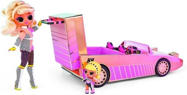 Automobilis 565222 LOL Surprise Car-Pool Coupe with Exclusive Doll L.O.L. OMG Кабриолет Paveikslėlis 5 iš 6 310820252889