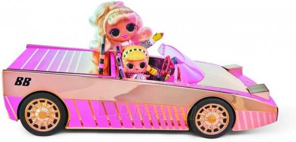 Automobilis 565222 LOL Surprise Car-Pool Coupe with Exclusive Doll L.O.L. OMG Кабриолет Paveikslėlis 6 iš 6 310820252889