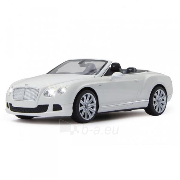 Automobilis Bentley ContinentalGT SpeedCon.1:12 white Paveikslėlis 1 iš 2 310820143666