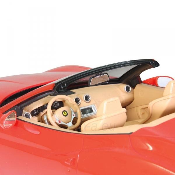 Automobilis Ferrari California 1:12 red Paveikslėlis 5 iš 5 310820143665