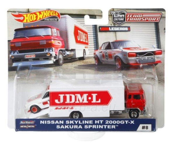 Automobilis FYT04 / FLF56 Hot Wheels Team Transport Sakura Sprinter Paveikslėlis 1 iš 2 310820203142