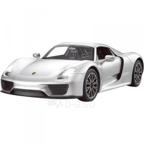 Automobilis Porsche 918 Spyder 1:14 silver Paveikslėlis 1 iš 2 310820143687