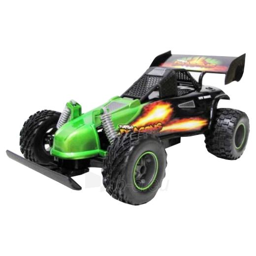 Automobilis RC 1:16 R/C Turbo Dragons Buggy Green Paveikslėlis 1 iš 1 310820082826