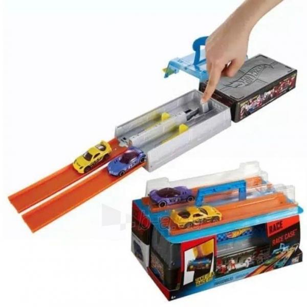 Automobilių trąsa CFC81 Hot Wheels Race Case Track Set MATTEL . Paveikslėlis 2 iš 6 310820249515
