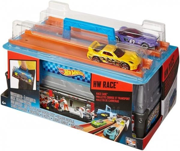 Automobilių trąsa CFC81 Hot Wheels Race Case Track Set MATTEL . Paveikslėlis 4 iš 6 310820249515