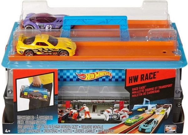 Automobilių trąsa CFC81 Hot Wheels Race Case Track Set MATTEL . Paveikslėlis 5 iš 6 310820249515
