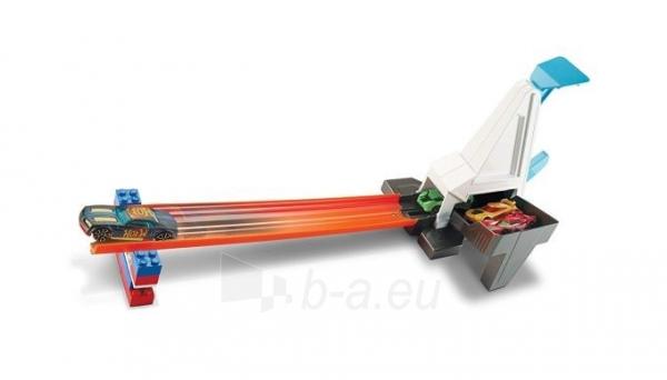 Automobilių trasa DWW94 / DNH84 Hot Wheels Playset Track Builder System - Rapid Launcher MATTEL Paveikslėlis 2 iš 6 310820137307