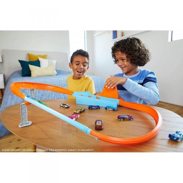 Automobilių trąsa GBF81 / GJM75 Mattel Hot Wheels Rapid Raceway Champion Play Set Paveikslėlis 1 iš 6 310820230590