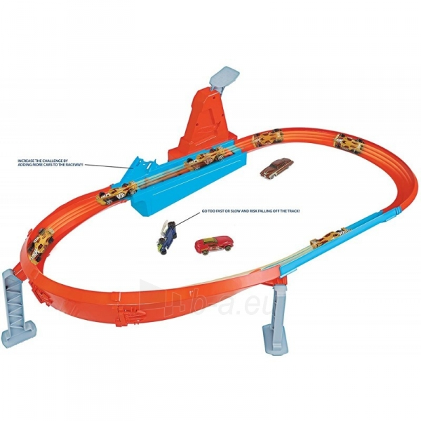 Automobilių trąsa GBF81 / GJM75 Mattel Hot Wheels Rapid Raceway Champion Play Set Paveikslėlis 3 iš 6 310820230590