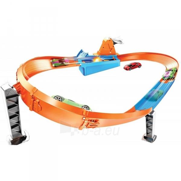Automobilių trąsa GBF81 / GJM75 Mattel Hot Wheels Rapid Raceway Champion Play Set Paveikslėlis 4 iš 6 310820230590