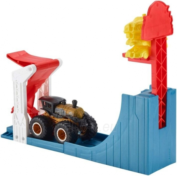 Automobilių trąsa GCG00 Hot Wheels Monster Toy Truck Slam Launcher Play Set Paveikslėlis 3 iš 4 310820230563