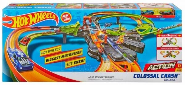 Automobilių trąsa GFH87 Mattel Hot Wheels Colossal Crash Set Paveikslėlis 3 iš 6 310820230572