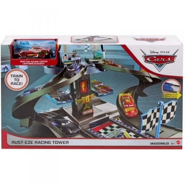 Automobilių trąsa GJW42 Mattel Disney Pixar Cars Rust-Eze Racing Tower Paveikslėlis 1 iš 6 310820230604