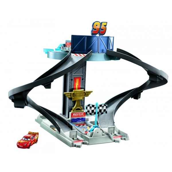 Automobilių trąsa GJW42 Mattel Disney Pixar Cars Rust-Eze Racing Tower Paveikslėlis 2 iš 6 310820230604