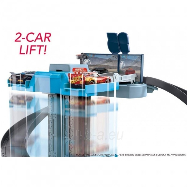 Automobilių trąsa GJW42 Mattel Disney Pixar Cars Rust-Eze Racing Tower Paveikslėlis 5 iš 6 310820230604