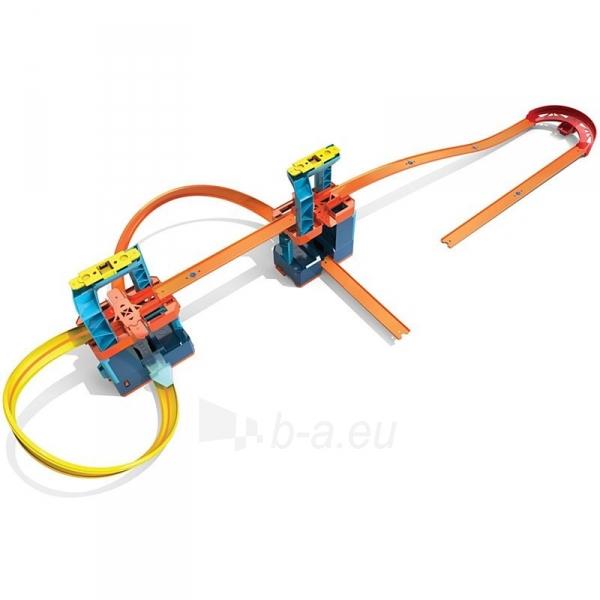 Automobilių trąsa GLC97 Hot Wheels®Track Builder Unlimited Ultra Boost Kit Motorized Set Paveikslėlis 2 iš 6 310820230586