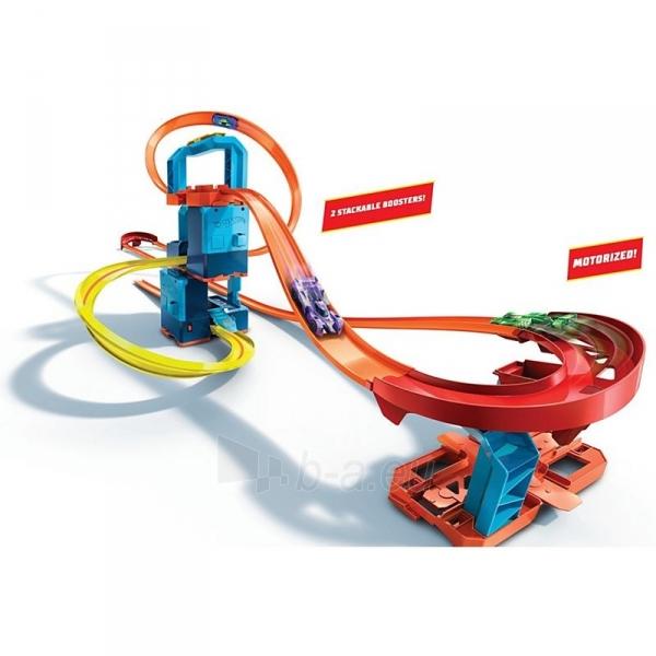 Automobilių trąsa GLC97 Hot Wheels®Track Builder Unlimited Ultra Boost Kit Motorized Set Paveikslėlis 3 iš 6 310820230586
