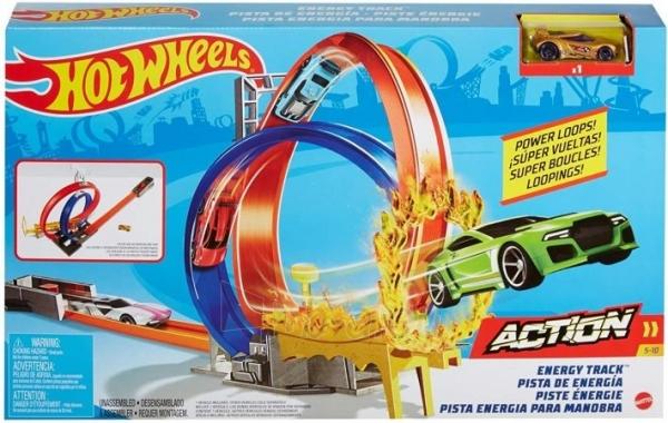 Automobilių trąsa GMD92 Hot Wheels Energy Track Playset MATTEL . Paveikslėlis 2 iš 6 310820249565