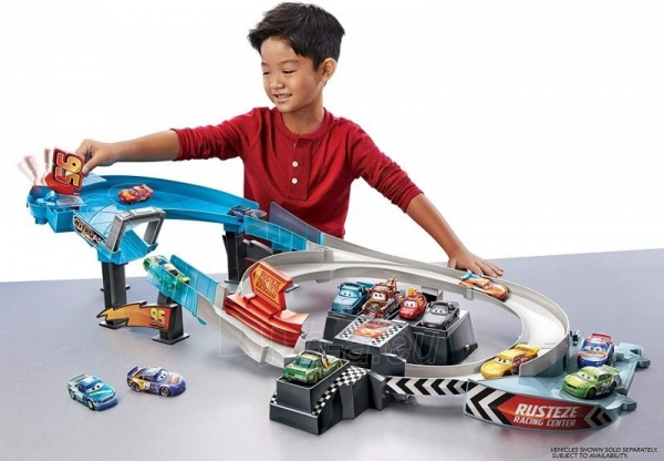 Automobilių trąsa GNW06 Disney Pixar Cars: Rusteze Double Circuit Speedway Paveikslėlis 1 iš 6 310820230585