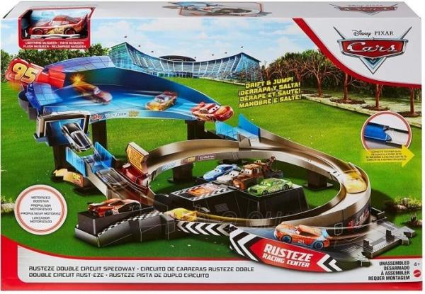 Automobilių trąsa GNW06 Disney Pixar Cars: Rusteze Double Circuit Speedway Paveikslėlis 2 iš 6 310820230585