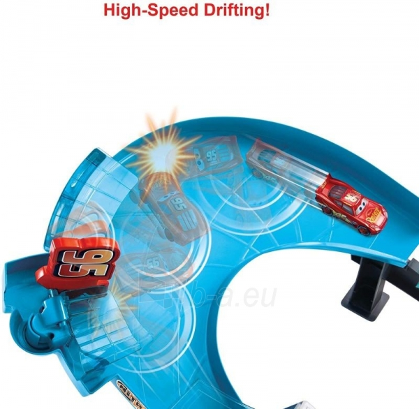 Automobilių trąsa GNW06 Disney Pixar Cars: Rusteze Double Circuit Speedway Paveikslėlis 4 iš 6 310820230585