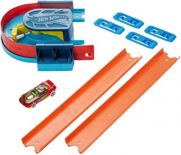 Automobilių trąsa Hot Wheels GLC93 Track Builder Unlimited Curve Kicker Pack Paveikslėlis 4 iš 6 310820230561
