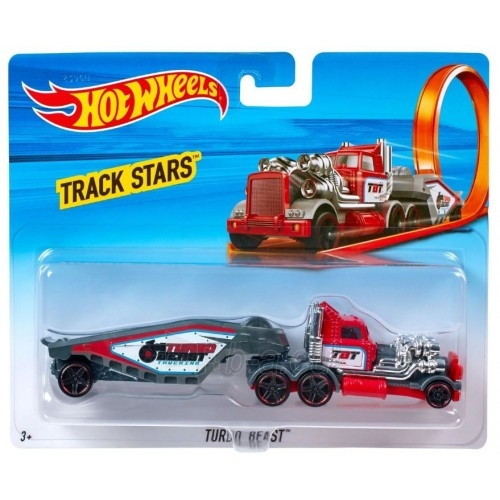Automobiliukas BFM60 Hot Wheels Truck, Turbo Beast Paveikslėlis 1 iš 1 310820230679