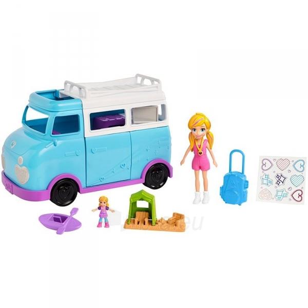 Automobiliukas FTP74 Polly Pocket®Glamping Van Paveikslėlis 2 iš 6 310820230701