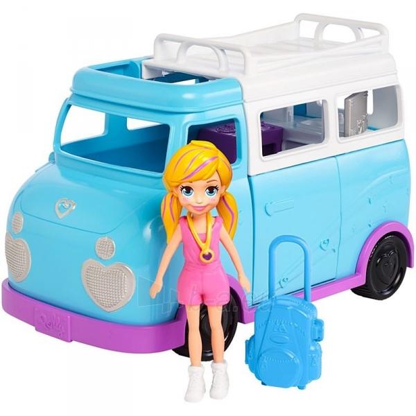 Automobiliukas FTP74 Polly Pocket®Glamping Van Paveikslėlis 4 iš 6 310820230701