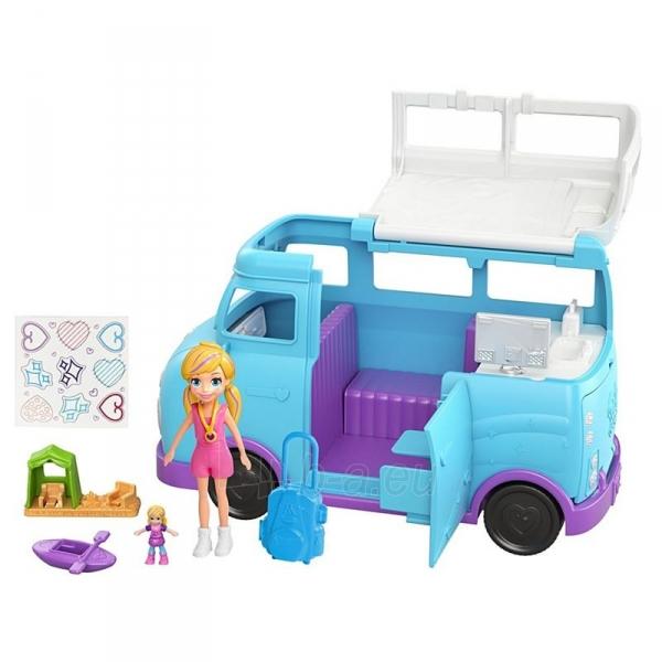 Automobiliukas FTP74 Polly Pocket®Glamping Van Paveikslėlis 5 iš 6 310820230701