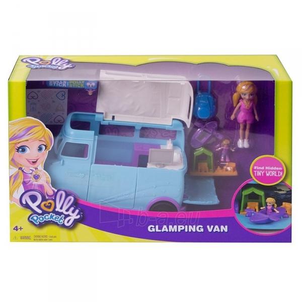 Automobiliukas FTP74 Polly Pocket®Glamping Van Paveikslėlis 6 iš 6 310820230701