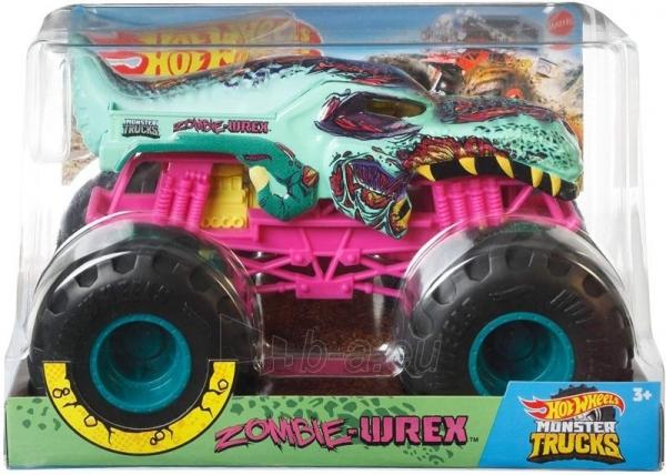Automobiliukas FYJ83 / GCX24 Hot Wheels ®Monster Trucks Zombie Wrex Paveikslėlis 1 iš 3 310820230677