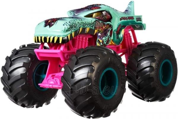 Automobiliukas FYJ83 / GCX24 Hot Wheels ®Monster Trucks Zombie Wrex Paveikslėlis 2 iš 3 310820230677
