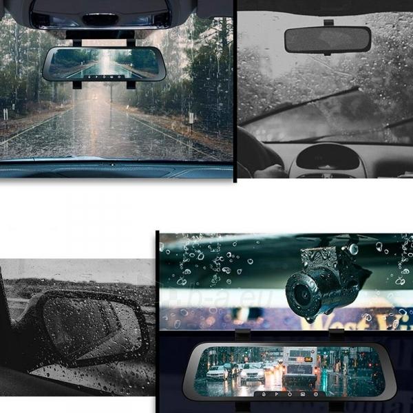 Autoregistratorius Xiaomi 70mai Rearview Dash Cam Wide (Midrive D07) Paveikslėlis 8 iš 9 310820225905