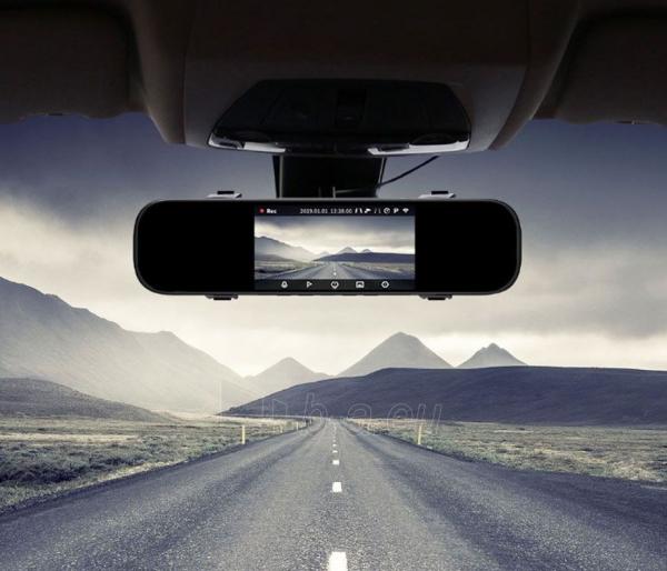 Autoregistratorius Xiaomi 70mai Rearview Mirror Dash Cam (Midrive D04) Paveikslėlis 5 iš 5 310820225904