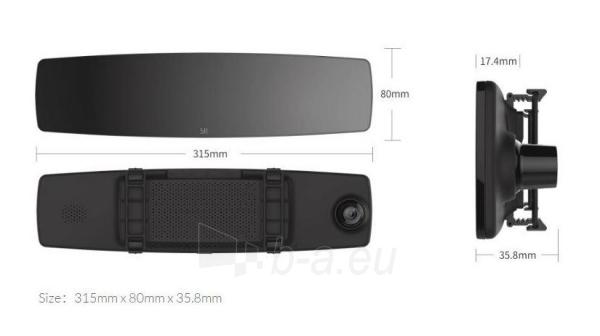 Autoregistratorius Xiaomi Yi Mirror Dash Camera (YCS.1C17) USED Paveikslėlis 2 iš 6 310820230258