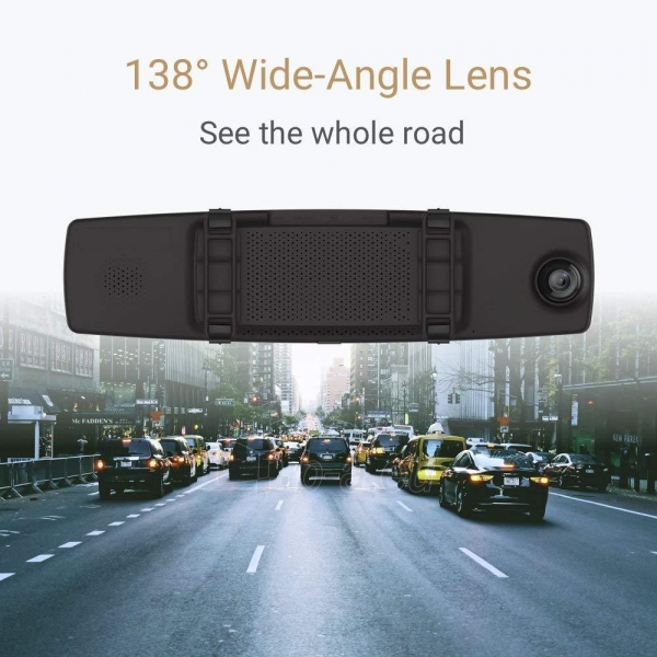 Autoregistratorius Xiaomi Yi Mirror Dash Camera (YCS.1C17) USED Paveikslėlis 4 iš 6 310820230258