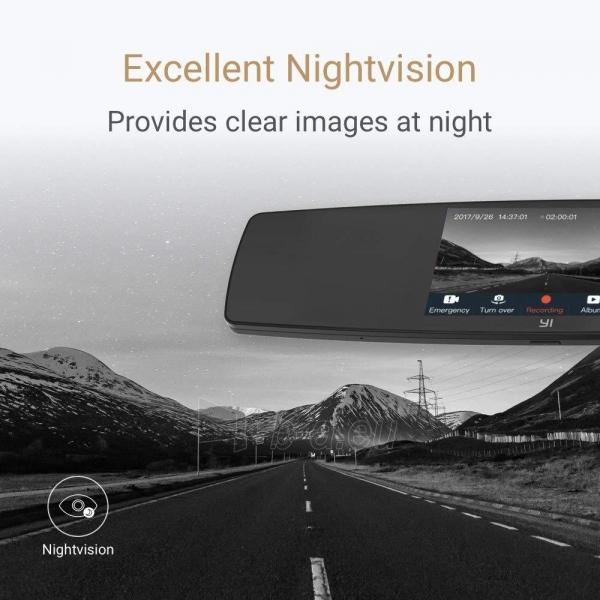 Autoregistratorius Xiaomi Yi Mirror Dash Camera (YCS.1C17) USED Paveikslėlis 5 iš 6 310820230258