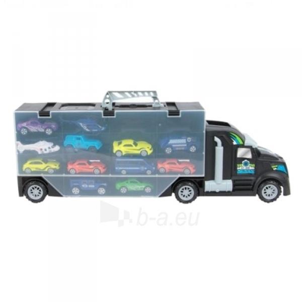 Autotrasa Elephant Toys 44175 Police car set Paveikslėlis 3 iš 3 310820143455