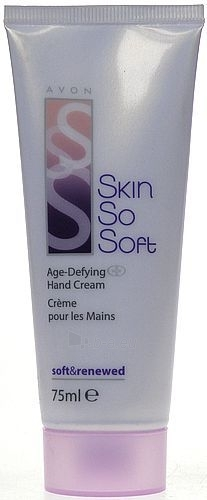 Avon Skin So Soft Age Hand Cream Cosmetic 75ml Paveikslėlis 1 iš 1 250850400045