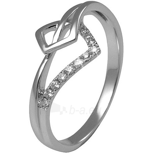 Avro Diamonds žiedas RGDIA110 (Dydis: 61 mm) Paveikslėlis 1 iš 1 310820017499
