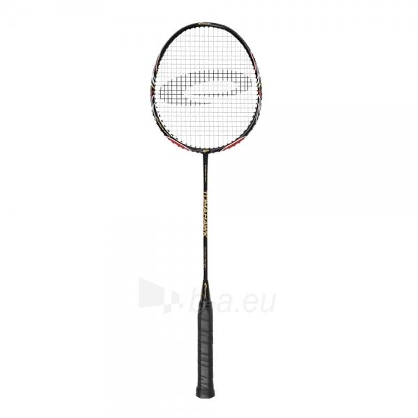 Badmintono raketė TOMAHAWK juoda Paveikslėlis 1 iš 9 30073700004