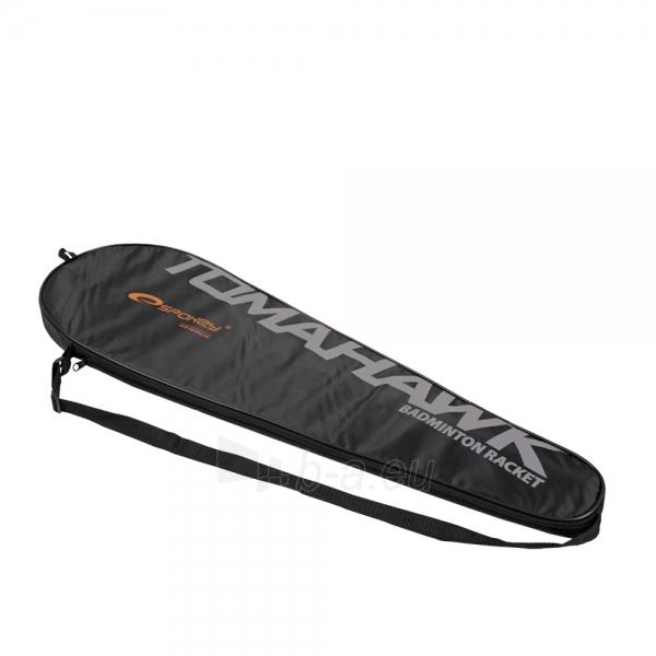 Badmintono raketė TOMAHAWK juoda Paveikslėlis 5 iš 9 30073700004