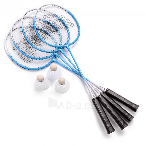 Badmintono rinkinys METEOR MOTION 4 Paveikslėlis 2 iš 6 310820223899