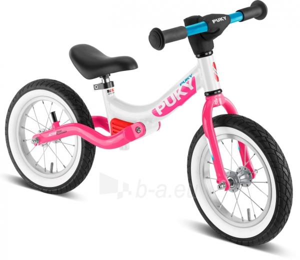 Balansinis dviratukas PUKY LR Ride Splash white/pink Paveikslėlis 1 iš 1 310820224607