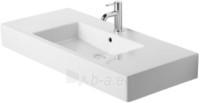 Vero baldinis praustuvas 125x49 cm, baltas su persipylimu Paveikslėlis 1 iš 1 270711000851