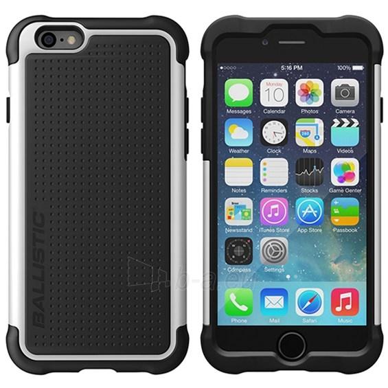 Ballistic Tough Jacket telefono dėklas Apple iPhone 6 telefonui (Juoda su balta) Paveikslėlis 1 iš 6 250232002773