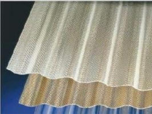Acryl sz profile sheets 1,5x1045x2000 mm (2,09 m²) bronze Paveikslėlis 1 iš 1 237160000074