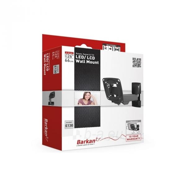 BARKAN E130.B 26'' LCD, 3 lankstų, sieninis, juodas Paveikslėlis 3 iš 3 250226200227